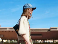 Celine показали весенне-летнюю коллекцию на футбольном поле в Монако. Вот как это было