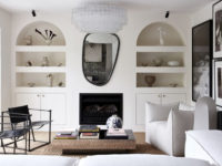 Черно-белый декор в интерьере: 30+ идей