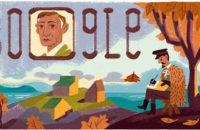 Google посвятил дудл 150-летию со дня рождения Ивана Бунина
