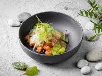 Готовим ужин дома: тартар из лосося с маринованным фенхелем