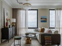 Интерьер месяца: квартира 64 м² с видом на всю Москву