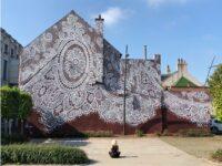 Кружевное граффити во Франции