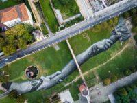 Lavazza совместно с художником Сайпе создали арт-объект в парке в Турине