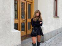 Модное вложение: инфлюенсер Матильда Джерф в самых модных сапогах этой осени