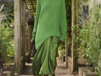 Монохром и вязаные платья: коллекция Michael Kors Collection SS21