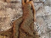 Найдите Ирину? Супермодель Шейк в леопарде на леопарде