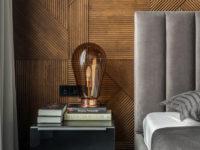 Серый цвет в спальне: 30 нескучных идей