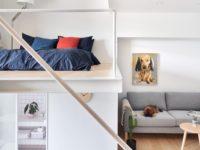 Спальня в маленькой квартире: 6 практичных решений