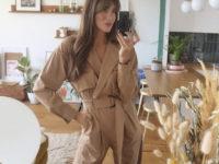 Стильный и деловой: конкретно этот комбинезон Zara можно носить в офис, как это делает корсиканка Жюли