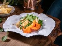 Сытный ужин без последствий для фигуры: рецепт салата с тыквой
