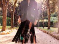 Тренд сезона: одежда с бахромой