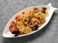 Ужин по-итальянски: спагетти с морепродуктами по рецепту ресторана Baci e Abbracc