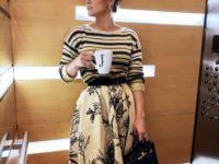 В оттенке ванили: Дженнифер Лопес в тотал-луке Dior