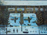 Выставка «Зазеркалье Павла Леонова» в ММОМА
