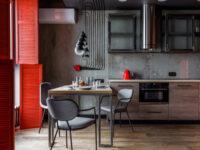 Яркие кухни: 20 оригинальных проектов