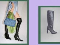 20 идеальных пар сапог на зиму: жокейские, ковбойские и ботфорты-чулки