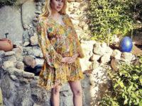 4 романтичных платья для беременных: стильная Эмма Робертс