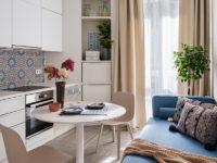 Бежевый цвет на кухне: 30+ примеров