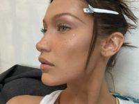 Блестящая деталь, которая сделает ваш макияж уникальным: показывает Белла Хадид