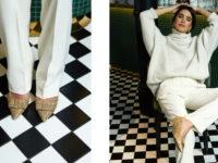 Double dressing: новогодние туфли для мамы и дочки