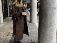 Где купить идеальное осеннее пальто цвета фундука как у Роузи Хантингтон-Уайтли