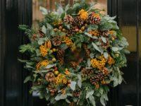Как сделать оригинальный рождественский венок? Научат в лондонском отеле Brown's