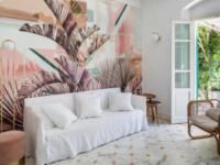 Квартира в пастельных тонах в Тоскане