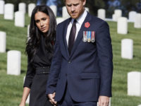 Меган Маркл и принц Гарри почтили память погибших воинов в Лос-Анджелесе
