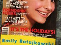 Моя первая обложка: Эмили Ратаковски показала свои детские фото
