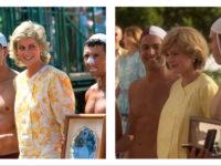 Очень похоже! 8 образов принцессы Дианы в жизни и в сериале «Корона» во время знаменитого австралийского турне