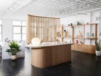 Офис и шоурум нью-йоркской галереи Uprise Art