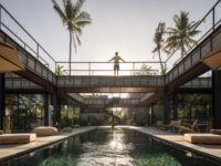 Под открытым небом: вилла в джунглях Бали