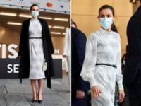 С чем носить белое платье осенью? Показывает королева Летиция