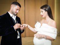 Свадебный #newlook: платье для беременной невесты как у Кэти Топурия