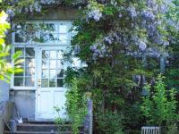Загородный дом под Копенгагеном: винтаж и яркие акценты