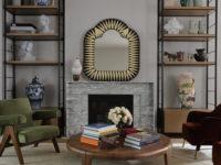 Зеркало над камином: 35 идей