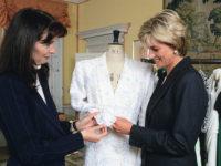 Жемчужное платье и еще 25 лучших творений Кэтрин Уолкер— любимого дизайнера принцессы Дианы