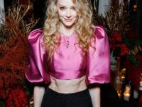 Блистательная Светлана Ходченкова в тотал-луке Sorelle на новогоднем ужине Bvlgari