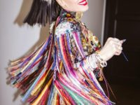 Черно-белое окрашивание: новый цвет волос Гвен Стефани