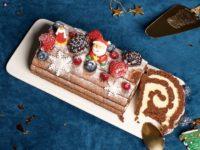 Десерт для новогоднего стола: рождественское полено