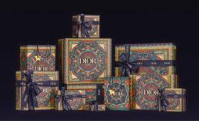 Dior выпустил праздничный AR-фильтр для инстаграма