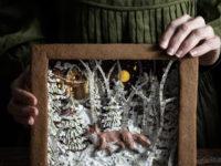 Фуд-тренд: съедобные рождественские открытки из имбирно-орехового теста