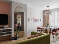 Интерьер месяца: маленькая квартира в Подмосковье