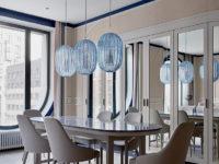 Квартира 105 м² с необычным дизайном и арочными окнами на ЗилАрт