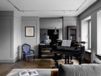 Квартира с роялем на Патриарших прудах в Москве