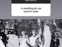 Личный архив: Хейли Бибер показала свадебную фотографию, которую еще никто не видел