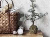 Новогодний декор из природных материалов: 15+ идей