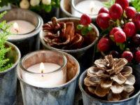 Новогодний декор из шишек: 25+ идей и примеров