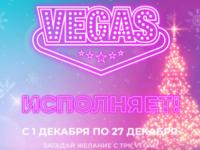 Новогодняя программа ТРК VEGAS