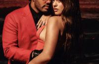 Огненный союз: испанка Розалия и The Weeknd опубликовали соблазнительный кадр